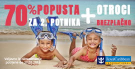 Odlična Royal Caribbean International in Celebrity Cruises akcija!