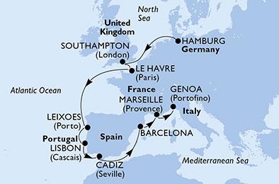 Od Nemčije do Italije