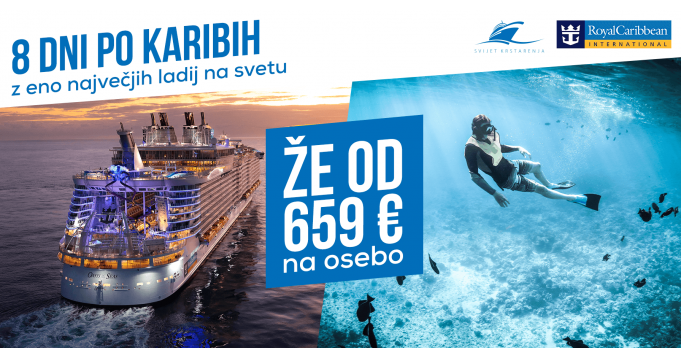 Royal Caribbean International - akcija Karibi