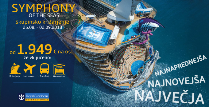 Symphony of the Seas, 25.08.2018